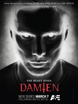 Постеры сериала «Дэмиен»