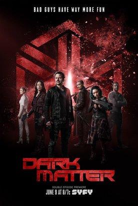 Постеры сериала «Тёмная материя»