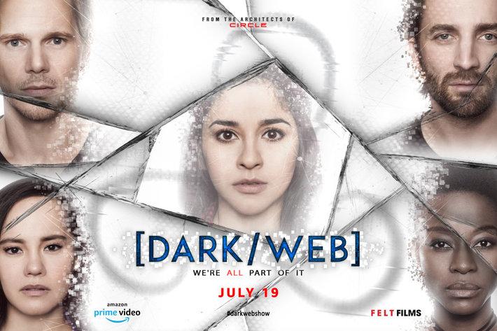 Постеры сериала «Dark/Web»
