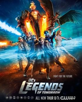 Постеры сериала «Легенды завтрашнего дня»