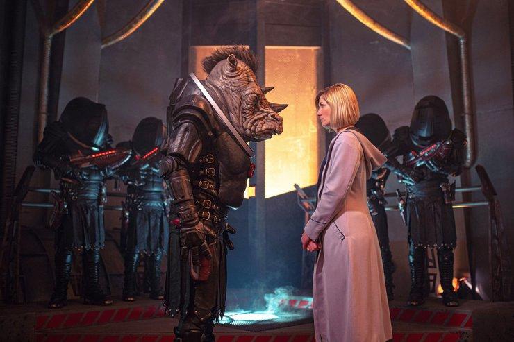 Кадры из сериала «Доктор Кто»