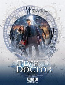 Постеры сериала «Доктор Кто»