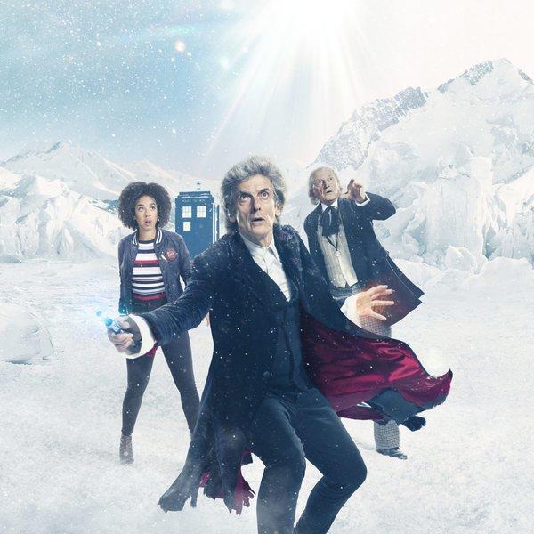 Промо-арт сериала «Доктор Кто»