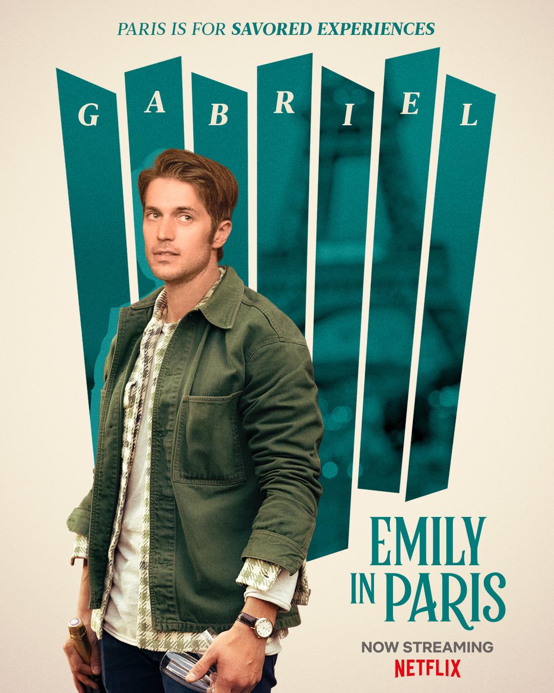 Эмили в Париже, постер № 11