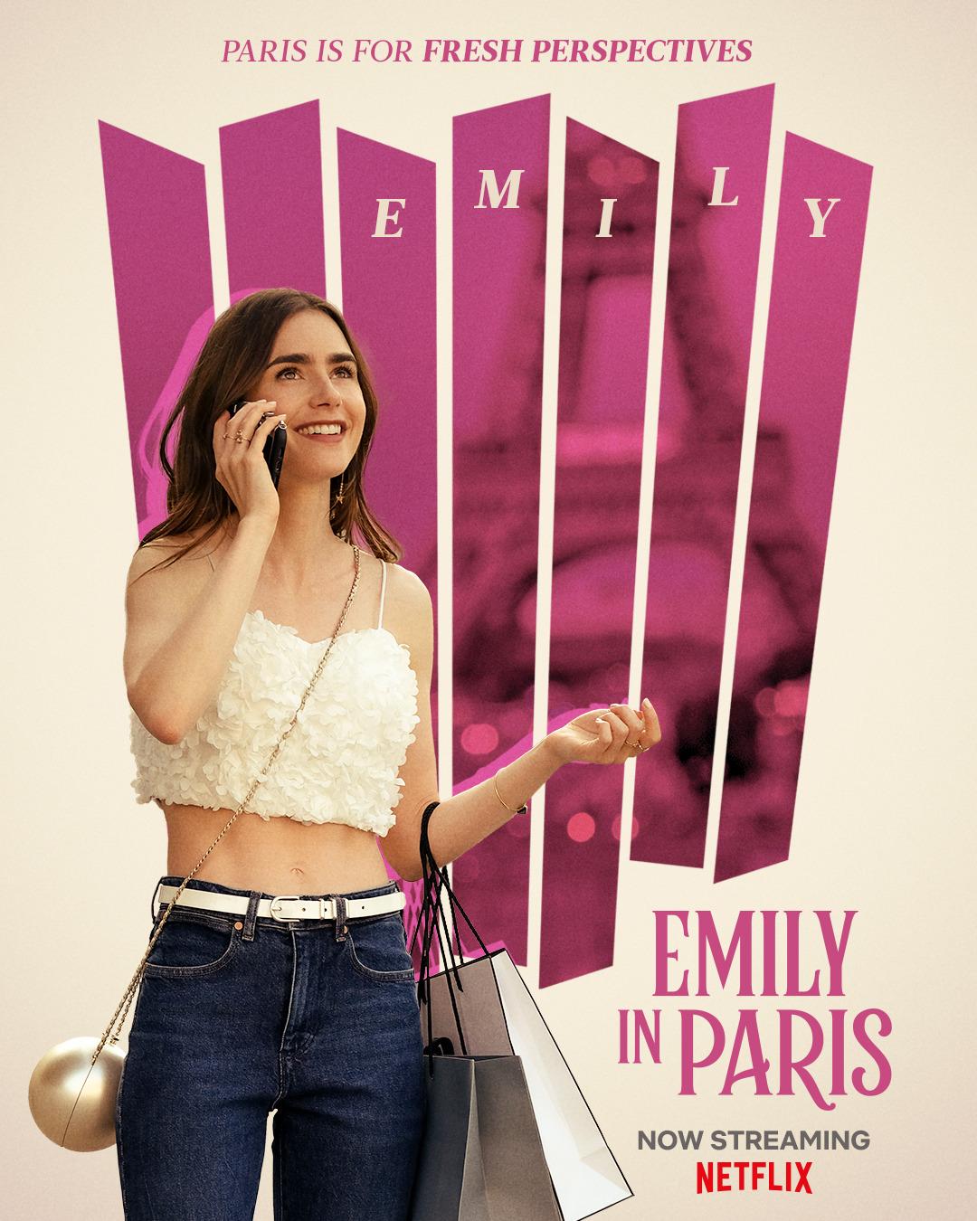 Эмили в Париже, постер № 9