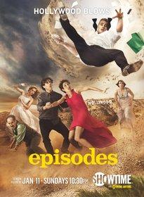 Постеры сериала «Эпизоды»