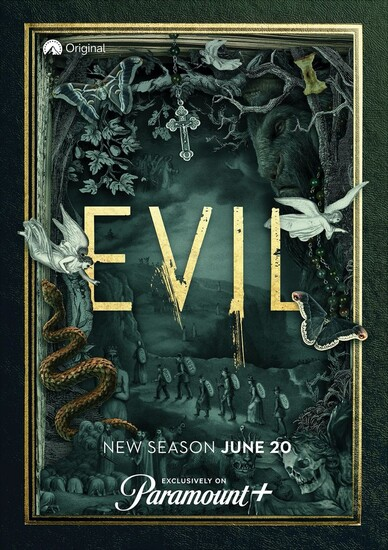 Постеры сериала «Зло»