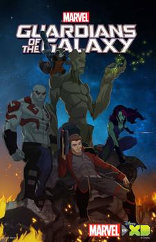 Постеры сериала «Стражи галактики»