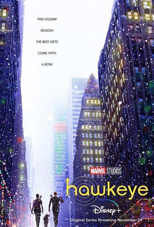 Постеры сериала «Соколиный глаз»