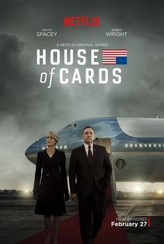 Постеры сериала «Карточный домик»