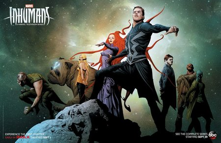 Постеры сериала «Сверхлюди»