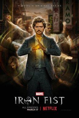 Постеры сериала «Железный кулак»