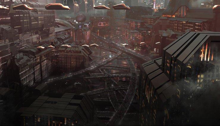 Кадры из сериала «Судья Дредд: Мега-Сити 1»
