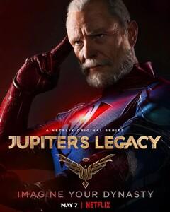 Постеры сериала «Наследие Юпитера»