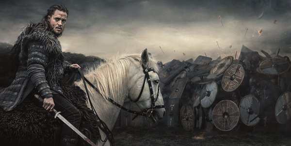 Промо-арт сериала «Последнее королевство»