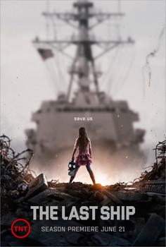 Постеры сериала «Последний корабль»