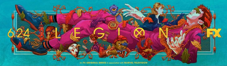 Постеры сериала «Легион»
