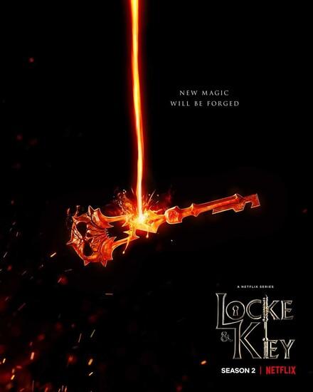 Постеры сериала «Лок и ключ»