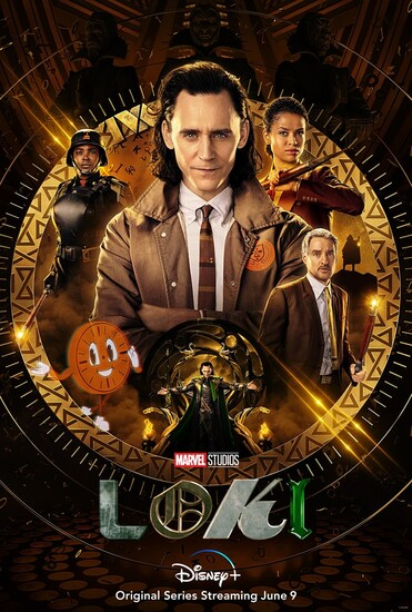 Постеры сериала «Локи»