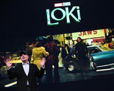 Промо-арт сериала «Локи»