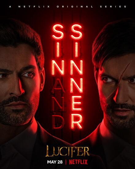 Постеры сериала «Люцифер»