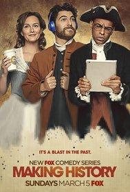 Постеры сериала «Творя историю»