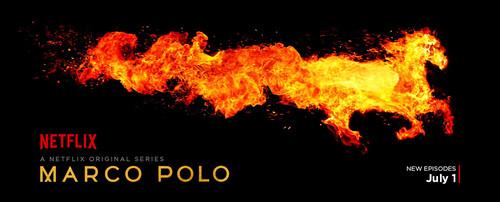 Постеры сериала «Марко Поло»