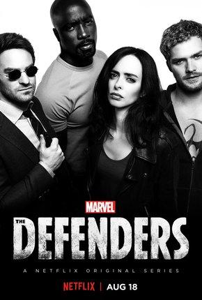 Постеры сериала «Защитники»
