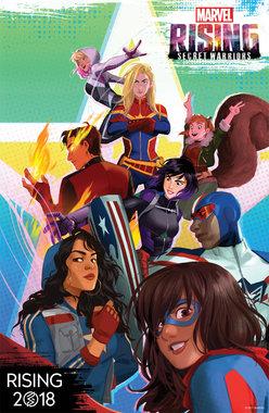 Постеры сериала Marvel Rising