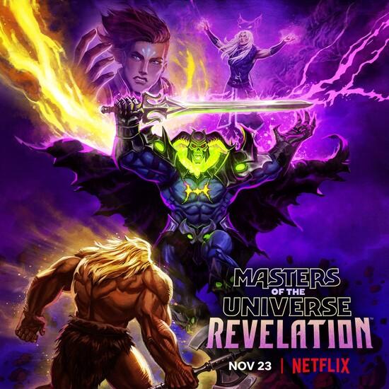 Постеры сериала «Властелины вселенной: Откровения»