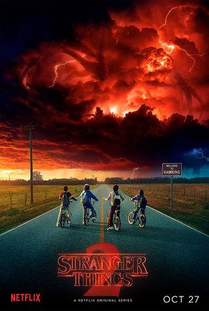 Постеры сериала «Очень странные дела»