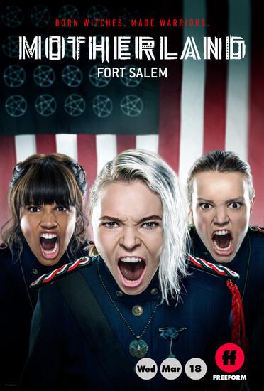 Постеры сериала «Родина: Форт Салем»