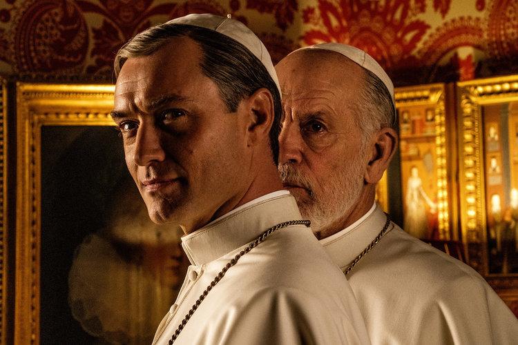 Промо-арт сериала «Новый Папа»