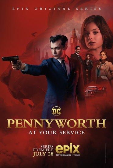 Постеры сериала «Пенниуорт»