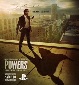 Постеры сериала «Сверхспособности»