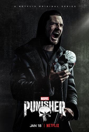 Постеры сериала «Каратель»