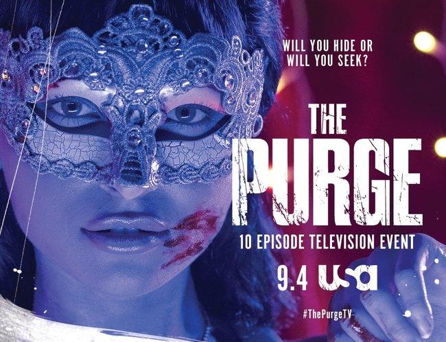 Постеры сериала «Судная ночь»