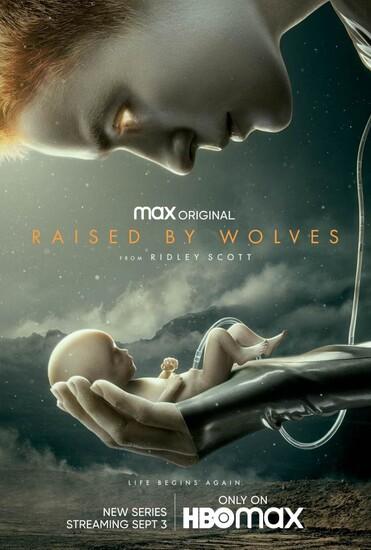 Постеры сериала «Взращённые волками»