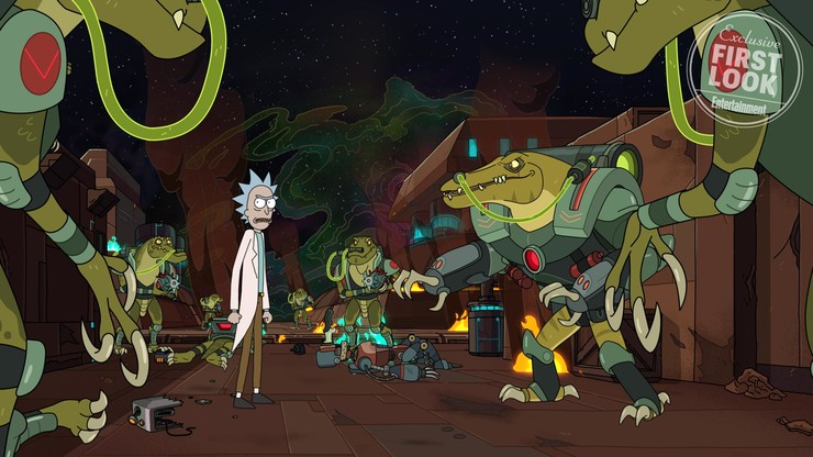 Кадры из сериала «Рик и Морти»