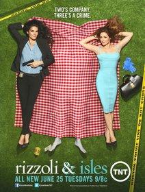 Постеры сериала «Риццоли и Айлс»
