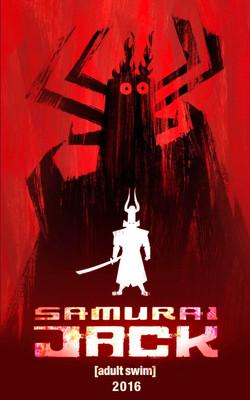 Постеры сериала «Самурай Джек»