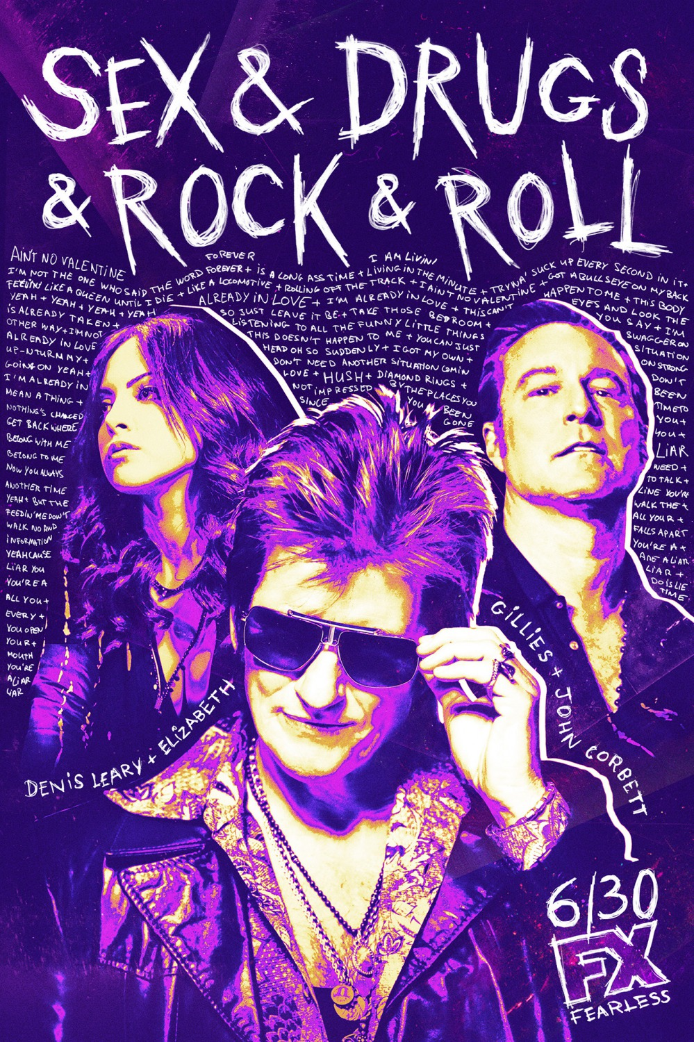 Sex and drugs and rock and roll song