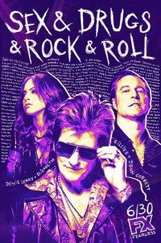 Постеры сериала «Секс, наркотики и рок-н-ролл»