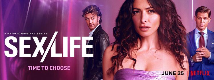 Постеры сериала «Секс/Жизнь»