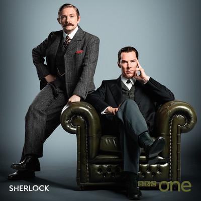 Постеры сериала «Шерлок»