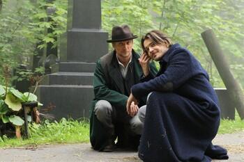 Кадры из сериала «Шерлок в России»