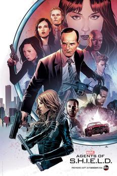 Постеры сериала «Агенты Щ.И.Т.»
