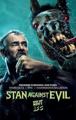 Постеры сериала «Стэн против сил зла»