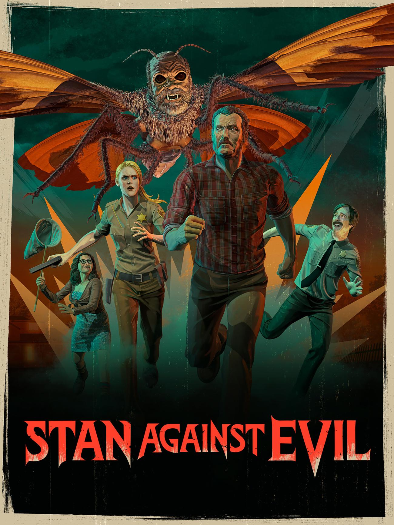 Стэн против сил зла, постер № 4