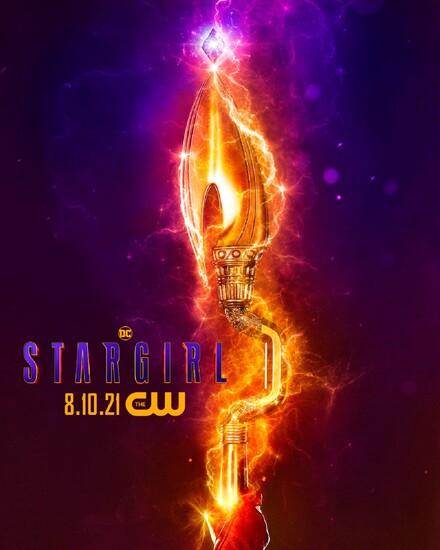 Постеры сериала «Старгёрл»